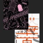 Set Akihabara Poster x2
