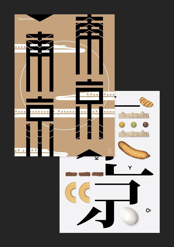 Set Tokyo Poster x2